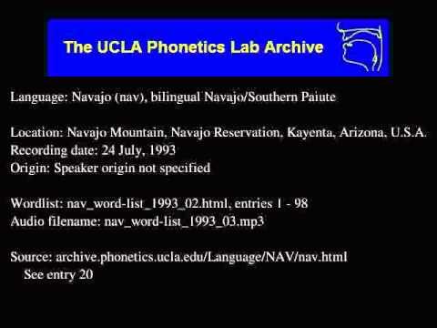 Navajo audio: nav_word-list_1993_03