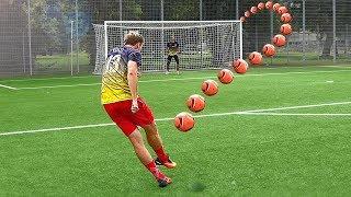 getlinkyoutube.com-Cristiano Ronaldo Knuckleball Free Kick Tutorial (2016)