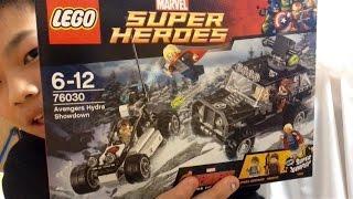 getlinkyoutube.com-LEGO 76030  Avengers  Hydra  Showdown  TAIKI