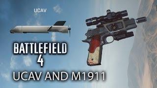 getlinkyoutube.com-Battlefield 4: How to Unlock the UCAV and M1911 3X Developer Scope