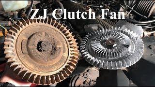 ZJ Clutch Fan swap in XJ / MJ + Power Steering Pump - S2E10