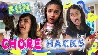 Fun Chore Hacks // GEM Sisters