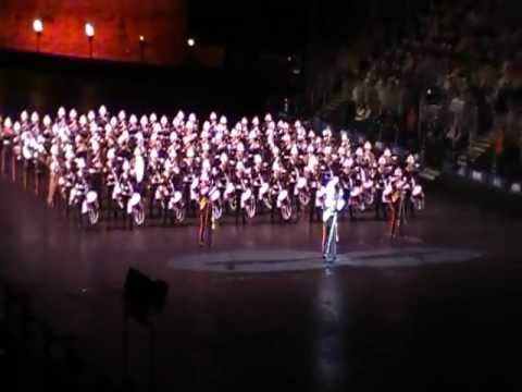 Edinburgh tattoo 2011 Massed bands of HM Royal Marines