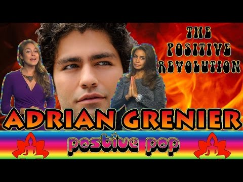 Adrian Grenier Has Our LOVE on The Positive Revolution Presents Positive Pop