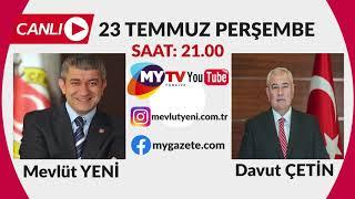 Mevlüt Yeni'nin moderatörlüğünde Yeni Bakış'ın bu akşamki konuğu ATSO Başkanı Davut Çetin