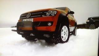 Тест-драйв Volkswagen Amarok (Tamiya CC-01)