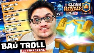 getlinkyoutube.com-O BAÚ DO CLÃ ESTÁ FICANDO MAIS TROLL? - CLASH ROYALE