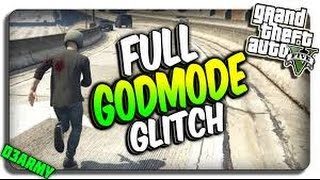 Gta 5 god mode glitch( full unlimited ) **working on xbox 360 and PS3 only**