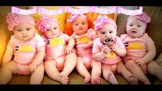 getlinkyoutube.com-First All-Girl Quintuplets Appear on 'GMA'