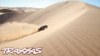 The World's Biggest Aerial R/C Assault - Traxxas Invades Glamis