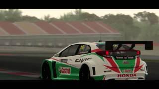 getlinkyoutube.com-Honda Civic WTCC Assetto Corsa Mod