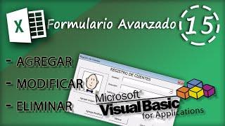 getlinkyoutube.com-Formulario Avanzado: Agregar, Modificar, Eliminar y Fotografía | VBA Excel 2013 #15