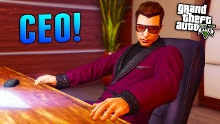 getlinkyoutube.com-GTA Online: How to Become a CEO! (GTA 5 Finance and Felony DLC)