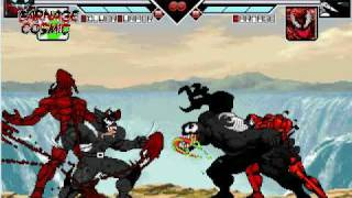 getlinkyoutube.com-Wolvenom and Carnage Cosmic vs. Venom and Carnage