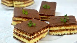 Ciasto milky way bez pieczenia - Jak zrobić - [Smakowite Dania]