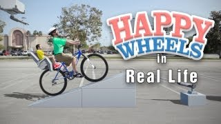 getlinkyoutube.com-Live Action HAPPY WHEELS | Irresponsible Dad in Real Life