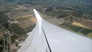 getlinkyoutube.com-Transavia 737-800 Takeoff Dalaman airport