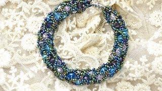 getlinkyoutube.com-PandaHall Jewelry Making Tutorial Video -- How to Make a Tubular Netting Stitch Bead Bracelet