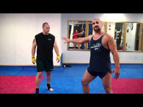 Muay Thai Round kick Hip Extension Drill