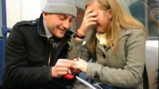 getlinkyoutube.com-BEST Marriage Proposal in Subway EVER!!,  Bulgaria 2012