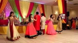 getlinkyoutube.com-Sonia & Sohil Sangeet Dance Performance