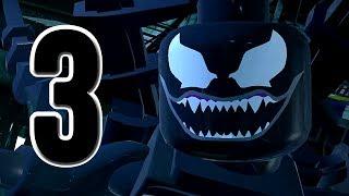 getlinkyoutube.com-LEGO Marvel Super Heroes Movie Walkthrough 03 HD1080p - SpiderMan Venom Hawkeye - No Commentary