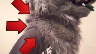 getlinkyoutube.com-Fursuit Tutorial: Making A Neck