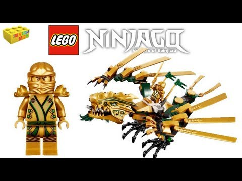 Lego Ninjago The Golden Dragon Review 70503, The Final Battl