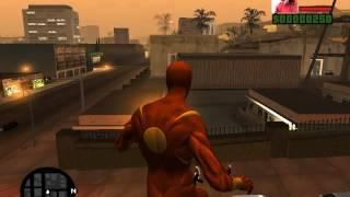 getlinkyoutube.com-Gta San Andreas Mod Spiderman Web