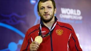 getlinkyoutube.com-Tashkent 2014 World Freestyle Wrestling Championship 74kg   Denis Tsargush RUS Gold Medal