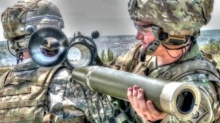 getlinkyoutube.com-Army Soldiers Shooting the Powerful M3 Carl Gustav Recoilless Rifle