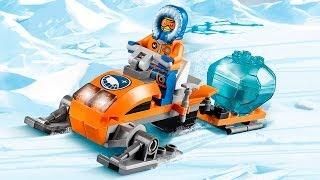getlinkyoutube.com-Arctic Snowmobile / Arktyczny Skuter Śnieżny 60032 - Lego City - www.MegaDyskont.pl