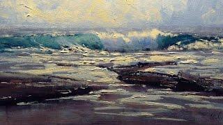 getlinkyoutube.com-Seascape Painting in Acrylics - Michael Cawdrey
