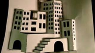 getlinkyoutube.com-Make A 3D Paper City!