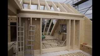 getlinkyoutube.com-Niedrigenergiehaus | Passivhaus | Foto-Dokumentation vom Bau