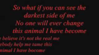 getlinkyoutube.com-Three Days Grace - Animal I Have Become