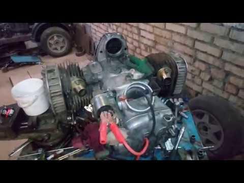 Самодельный минитрактор. установка венца электростартера и сцепление на двигатель к750, урал, мт.