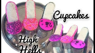 getlinkyoutube.com-Cupcakes en forma de Zapatitos!