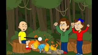 getlinkyoutube.com-Caillou Lights His Sister On Fire/ Grounded