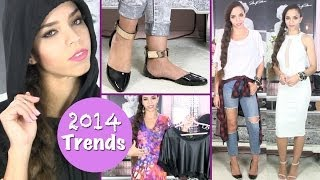2014 Fashion Trends - Style Tips for Dresses, Shoes, Leather, Plaid, Flats