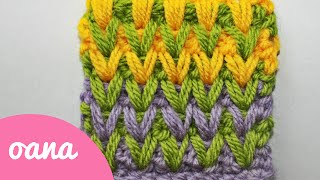 getlinkyoutube.com-crochet color spike stitch
