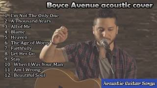 Sam Smith | I'm not the only one | nonstop cover by Boyce Avenue Acoustic Guitar