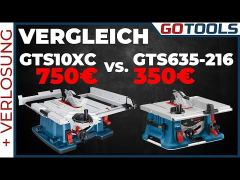 Comparison between GTS 10XC and GTS 635-216 [German] Youtube Thumbnail