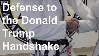 getlinkyoutube.com-The Defense to the Donald Trump Handshake