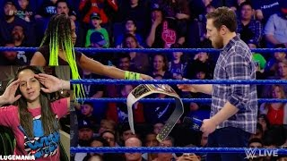 getlinkyoutube.com-WWE Smackdown 2/21/17 Naomi relinquish Womens Title