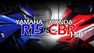EPIC BATTLE | R15 vs CBR150R . All New Yamaha YZF R15 MY2017 VS All New Honda CBR150RR 2016 !!!