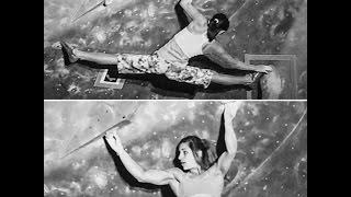getlinkyoutube.com-Ashima Shiraishi and Alex Puccio, Professional  climbers.日本がクライミングを2020年オリンピック競技に推薦