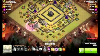 getlinkyoutube.com-Best town hall 9 anti 2 stars base war/trophy