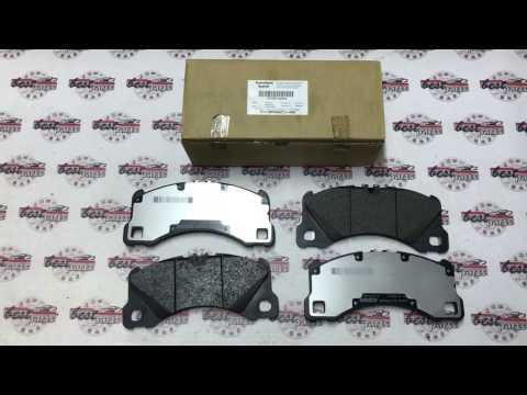 971698151E Колодки тормозные передние Porsche Panamera 970/Cayenne 958