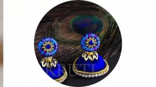 getlinkyoutube.com-Silk thread jewellery